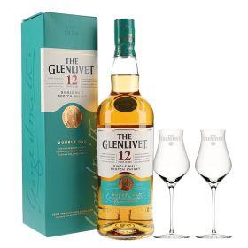 The Glenlivet 12 Years Old + 2 bicchieri Glenlivet