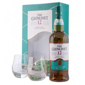 The Glenlivet 12 Years Old Gift Pack con bicchieri