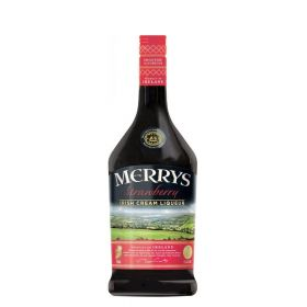 Merrys Irish Cream Liqueur Strawbery
