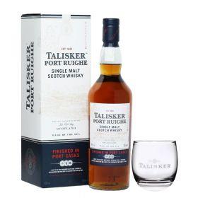 Talisker Port Ruighe + bicchiere Talisker