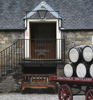 glen moray still house
