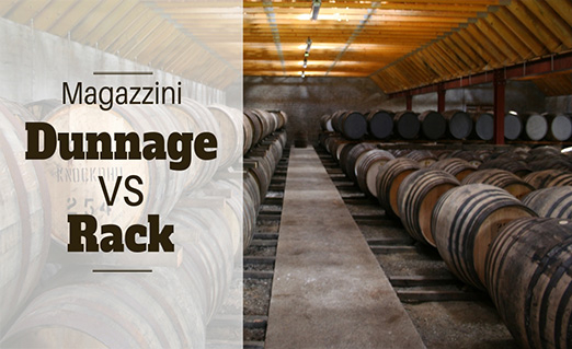 Magazzini, Dunnage vs Rack