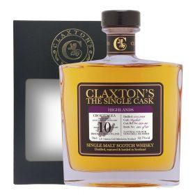 Croftangea (Loch Lomond) 10 Years Old 2009 - Claxton's Single Cask
