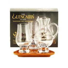 Confezione 2 bicchieri Glencairn + Caraffa
