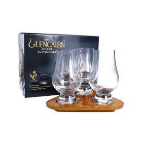 Glencairn confezione in legno e 3 bicchieri da Whisky