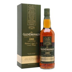 GlenDronach 25 Years Old 1993 Master Vintage