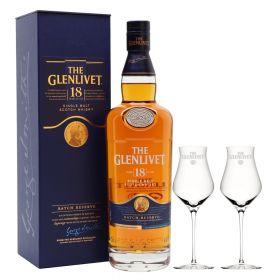 The Glenlivet 18 Years Old + 2 bicchieri Glenlivet