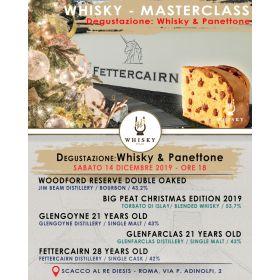 Serata di degustazione: Whisky & Panettone (14 dicembre ore 18:00)