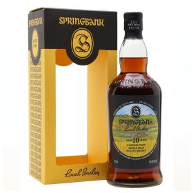 Springbank 10 Years Old Local Barley Sherry Cask