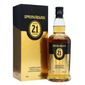 Springbank 21 Years Old