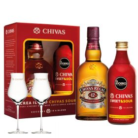 Chivas Regal 12 Years Old Sweet & Sour + 2 bicchieri Chivas
