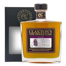 Arran 21 Years Old 1996 – Claxton's Single Cask