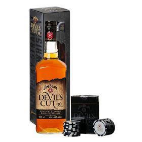 Jim Beam Devil's Cut Bourbon Poker Gift