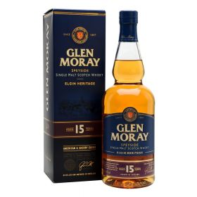 Glen Moray 15 Years Old - Elgin Heritage
