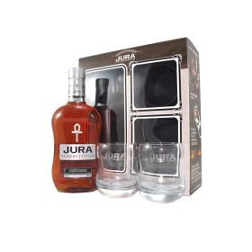 Isle of Jura Superstition confezione con bicchieri