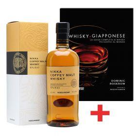 Nikka Coffey Malt + Libro Whisky Giapponese