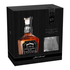 Jack Daniel's Single Barrel Gift Pack con bicchiere