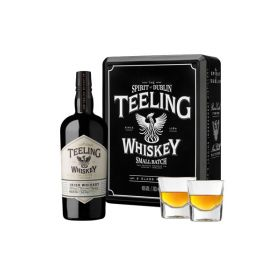 Teeling Small Batch Gift Box con bicchieri