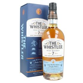 The Whistler Irish Whiskey 7 Years Old Blue Note