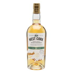 West Cork 10 Years Old Irish Whiskey